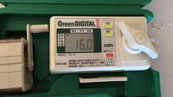 神崎自給教室 水分量測定 10月