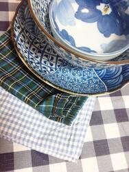 ブルー食器2