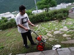 手押し型草刈機