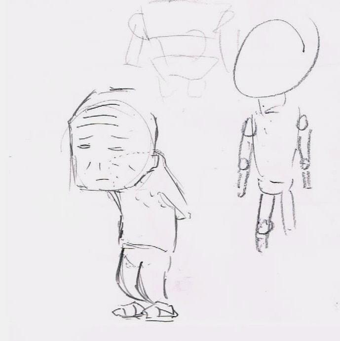 身体の描き方1