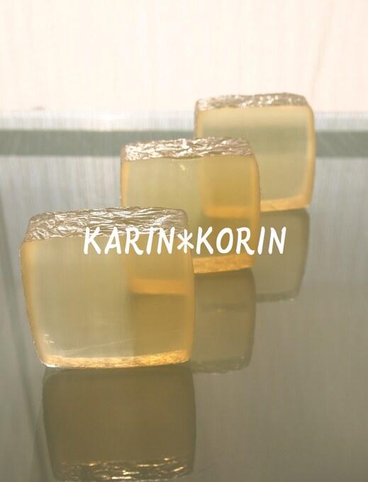 油脂から作る透明石鹸1