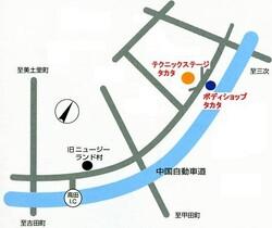 タカタアクセスmap