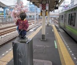 小便小僧と山手線@2014.4.JPG