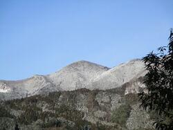 雪の大甲山