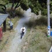 自転車の男(A cyclist)