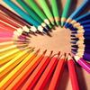 色鉛筆 ハート (640)