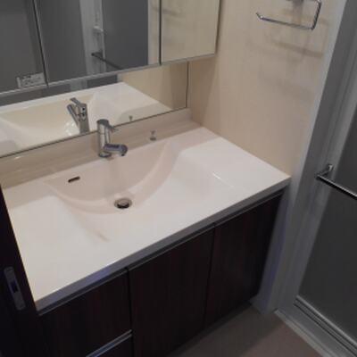 洗面室清掃後 (4)