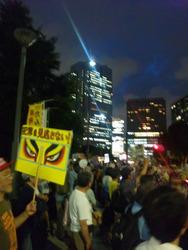 反原発デモ