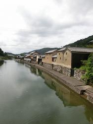 平福~川端風景