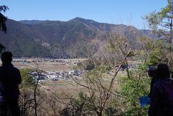 伊和中山古墳からの風景