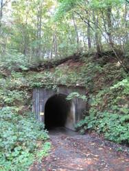 鳥海山麓の隧道