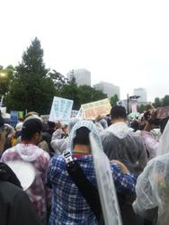 国会抗議行動8-30d