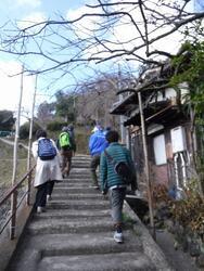 のぼり階段