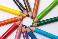 色鉛筆 輪 少ない