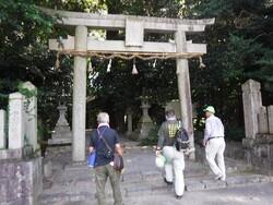庭田神社の鳥居