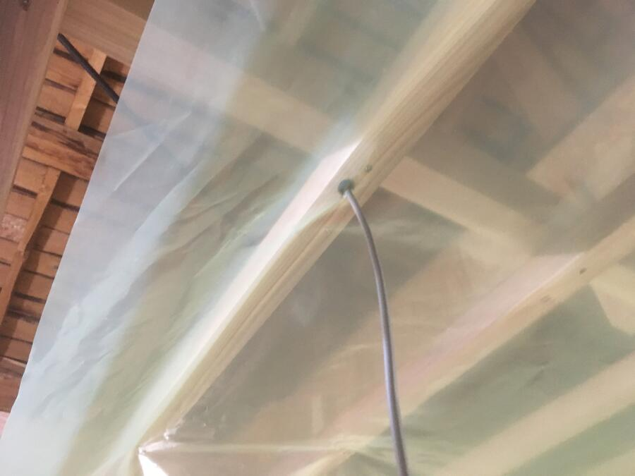 天井断熱 気密シート03