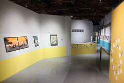 展場入口 左側是斎部洋子作品