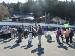 参加者と神福寺