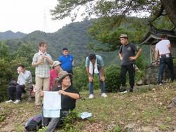 登り切った感のある参加者たち