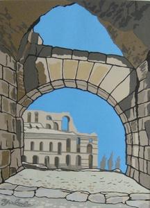 2012エルジェムのコロッセオ-チュニジア-.JPG