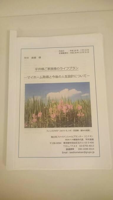 平井FP事務所 CF表