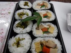 葉わさび寿司