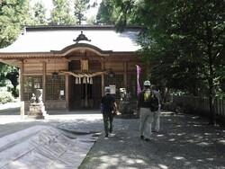庭田神社 拝殿