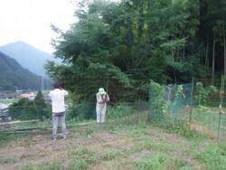 10_防護柵の補修