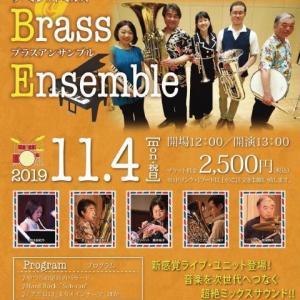The Millet Mills Brass Ensemble 2019.11.4