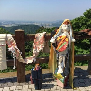 再生アート「弁天さん」「縁の地蔵」(栃木)