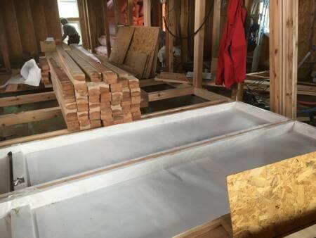 床断熱透湿シート
