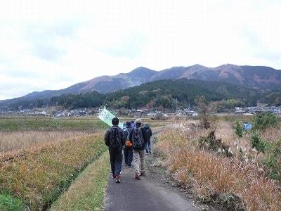 大甲山への道