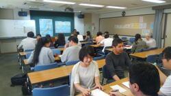 しゃべろう日本語教室風景