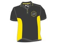 31オフィシャルポロシャツブラックグレー