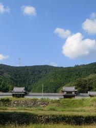 三日月陣屋遠景