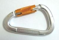 Auto-locking carabiner