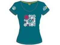 13オフィシャルTシャツレディースビジョンブルー